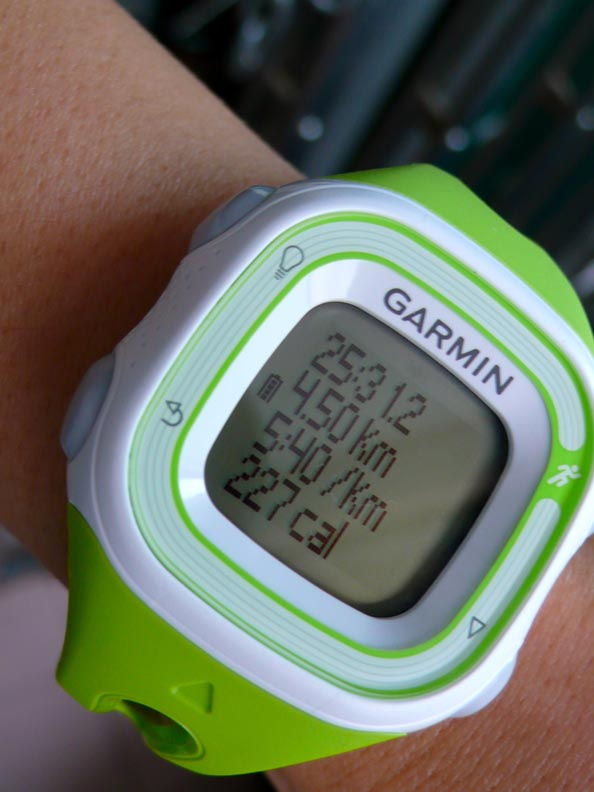 My first GPS watch - Garmin Forerunner 10